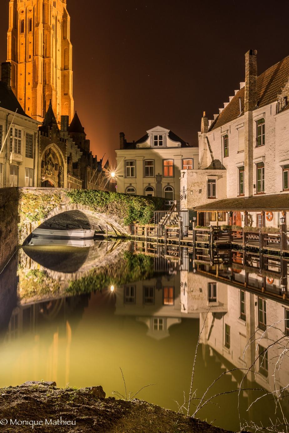Brugge zur Abendstunde