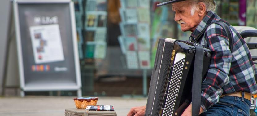 Der Strassen Musikant