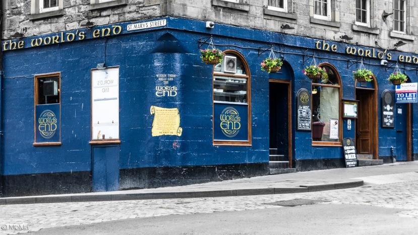 Edinburgh bei trübem Wetter Schottland2.Serie