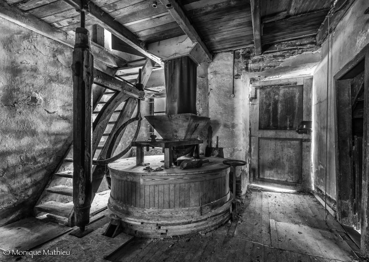 Verlassene Mühle  4 Fotos 1.Teil