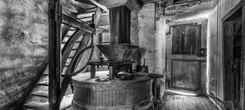 Verlassene Mühle  4 Fotos1.Teil