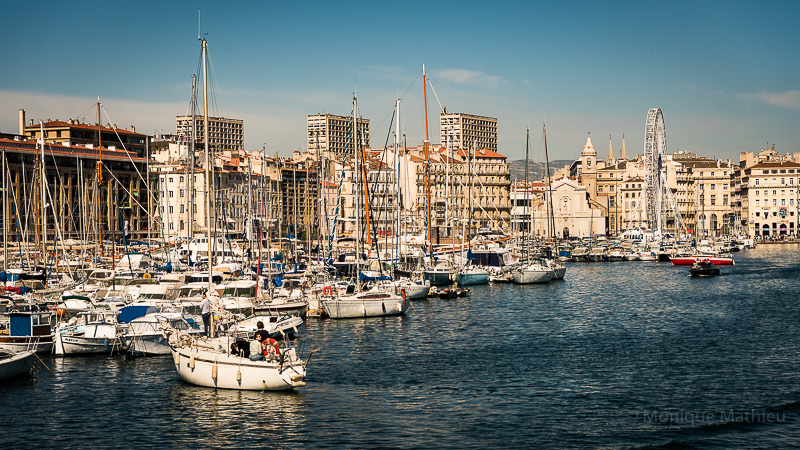 Von Marseille aus  zur Insel Archipel duFrioul