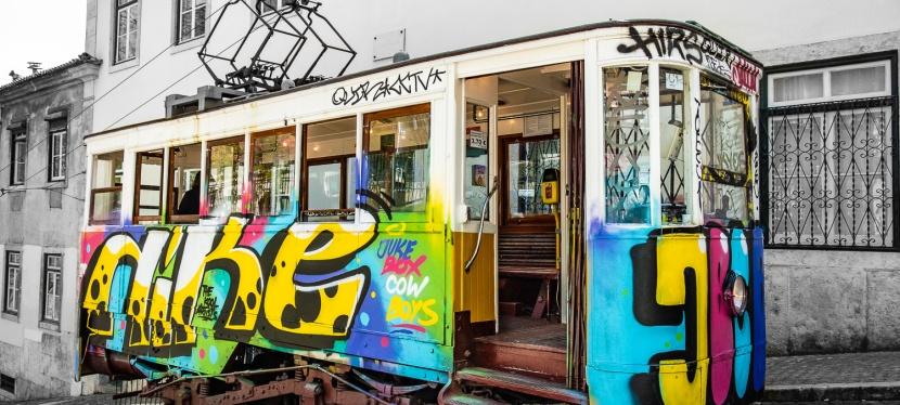 Tram in Lisboa