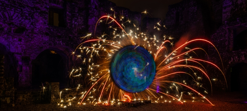 Lightpainting in Luxemburg