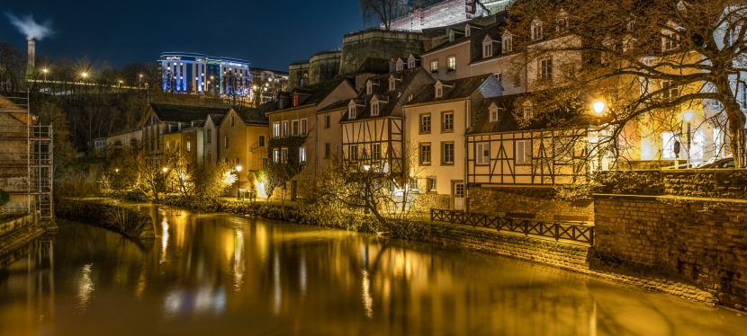 Stadt Luxemburg um Weihnachten 5Fotos