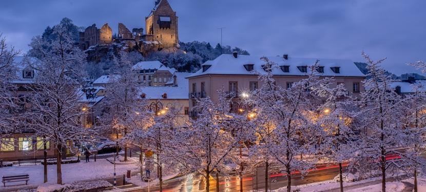 Ein Wintertag inLuxemburg