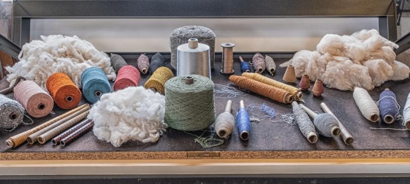 Maschinen aus einer Textilfabrik(Zeitzeugen)
